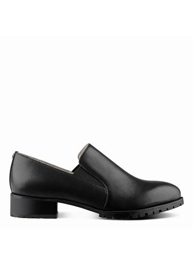Nine West %100 Deri Casual Ayakkabı Siyah